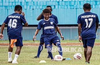 In Picture: Latihan Persipura Jelang Piala AFC 2021