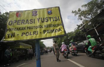 Jokowi Nilai PPKM Mikro Berhasil Turunkan Kasus Covid-19