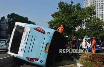 Wagub DKI Sebut Sopir Transjakarta Ada Potensi Tersangka