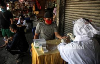 Pascalebaran, 16 Pedagang Pasar Batang Reaktif Covid-19
