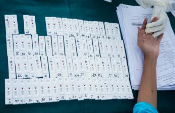 Ribuan Pelanggar PSDD di Mimika Ikut <em>Rapid Test</em>