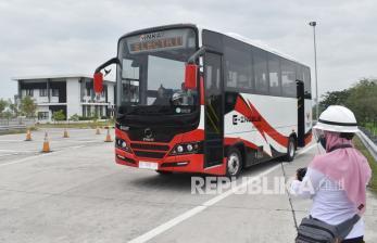 INKA Lakukan Uji Coba Prototipe Bus Listrik