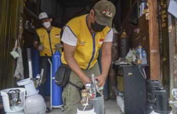 AQL Peduli Bagikan Oksigen Gratis di Jabodetabek