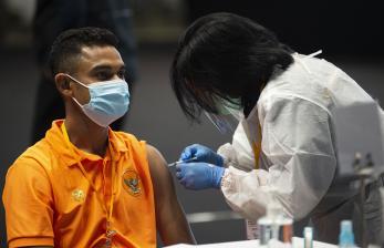 Ma'ruf Amin: Vaksinasi Atlet Prioritas