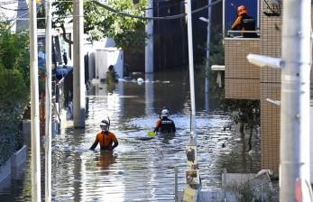 20 Orang Meninggal Akibat Banjir dan Longsor Kyushu Jepang