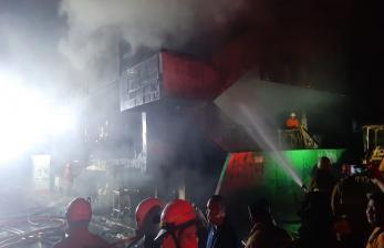 Kebakaran Pasar Minggu, tak Ada Korban Jiwa Maupun Luka