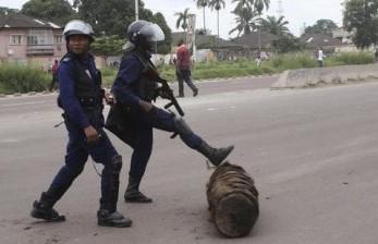 Polisi Kongo Dinilai Berlebihan Tindak Pelanggar Karantina