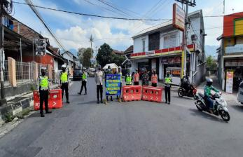 Dishub Garut Buka Penyekatan Jalur Angkot