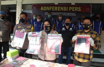Polres Sukabumi Kota Tangkap 10 Orang Pengedar Narkoba