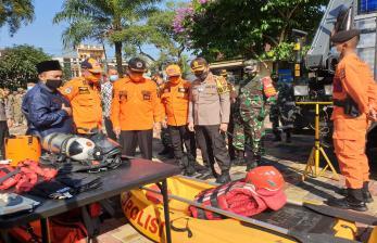 Antisipasi Bencana, Polres Tasikmalaya Kota Bersiaga