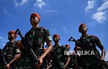 Personel Paskhas TNI AU Diterjunkan Kawal PPKM Mikro