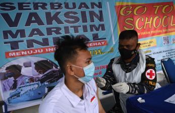 TNI AL Gencarkan Vaksinasi untuk Pelajar dan Tenaga Pendidik