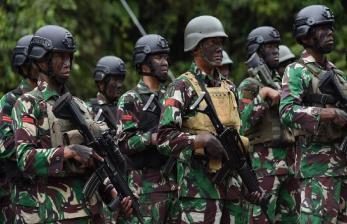 Prajurit TNI Hilang di Distrik Tembagapura