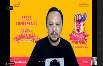 Tiga Musisi Borneo Tampil di Prambanan Jazz Festival 2021