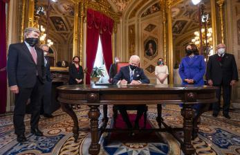 Joe Biden Resmi Jadi Presiden, Trump Tinggalkan Gedung Putih