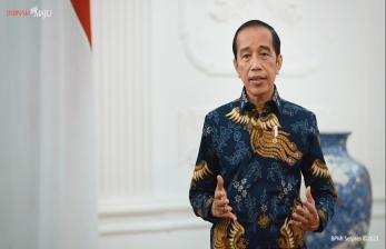 Jokowi ke Banten Resmikan Pabrik Baja dan Tinjau Vaksinasi