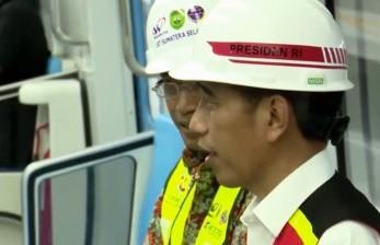 LRT di Palembang, Jokowi: Rasanya Lebih