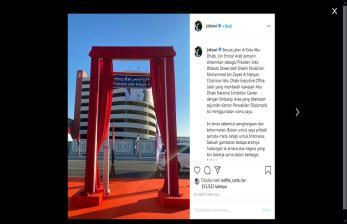 Jokowi Jadi Nama Jalan, Istana Singgung Hubungan UAE-Israel
