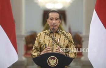 Jokowi Ajak Ikhtiar Lahir Batin Hadapi Pandemi Covid-19