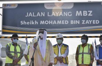 In Picture: Nama Tol Layang Japek Menjadi <em>Tol Mohamed Bin Zayed</em>