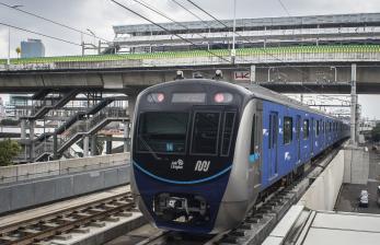 Penumpang MRT Jakarta Meningkat di Hari Kedua Lebaran