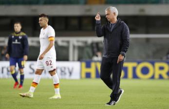 Verona Paksa Roma Telan Kekalahan Pertama di Era Mourinho