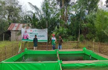 Dukung Peternak Lele, Rumah Zakat Salurkan Bantuan Pakan