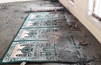 Pascabanjir Bandang, Masjid Baabussalam Tertimbun Pasir