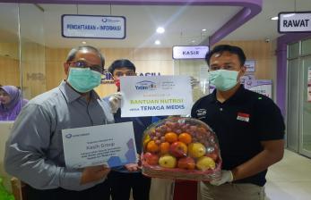 Rumah Yatim Beri Nutrisi Bagi Garda Depan Covid-19