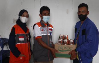 Rumah Zakat Bantu Korban Terdampak Longsor Rancabali