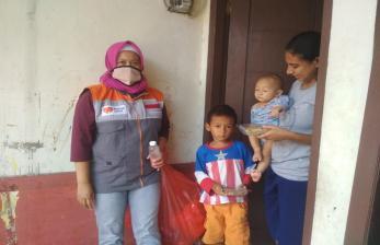Rumah Zakat Beri Makanan Tambahan untuk Tingkatkan Gizi Anak