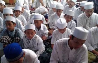 Pandemi, Santri Ponpes Integrasi Quran Bandung Tetap Ngaji
