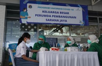 DKI Apresiasi Kontribusi Sarana Jaya di Percepatan Vaksinasi