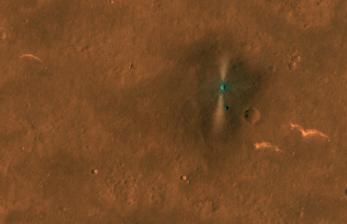 Satelit NASA Tangkap Foto Rover China di Permukaan Mars