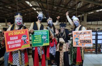 Sosialisasi Prokes di Cirebon, Punakawan Dilibatkan