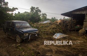 In Picture: Kerusakan Akibat Banjir Bandang di Kalsel