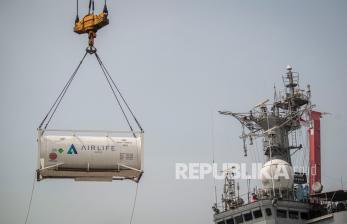 Indonesia Terima Bantuan Konsentrator dan Oksigen dari India