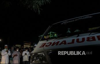 Kerabat Almarhum Ustaz Tengku Zul Sholat Ghaib di Medan