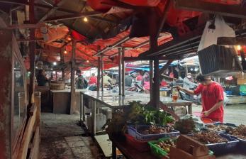 Pedagang Daging Sapi di Pasar Ciputat Mogok Jualan Tiga Hari