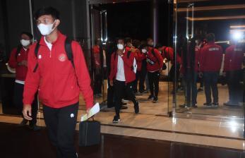In Picture: Timnas U-19 Kembai ke Tanah Air