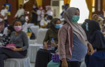 Pemkot Banjarbaru Vaksinasi 154 Ibu Hamil