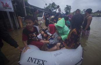 Banjir Kalsel Meluas, 19.452 Rumah Terendam
