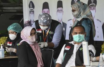 Ini Kata Jokowi Soal Vaksinasi Massal di Kota Bekasi