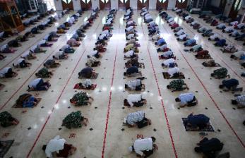 Idris: Masjid Sudah Terapkan Protokol Corona Saat Jumatan