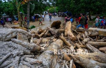 Ratusan Hektare Lahan Pertanian Sigi Rusak Terdampak Banjir