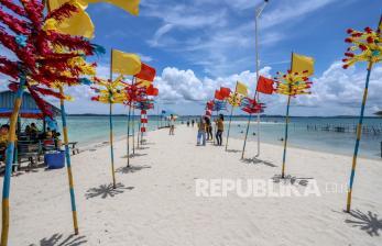 In Picture: Tempat Wisata Batam Mulai Dikunjungi Wisatawan di Masa PPKM