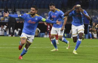 Napoli Bantai Legia Warszawa 3-0