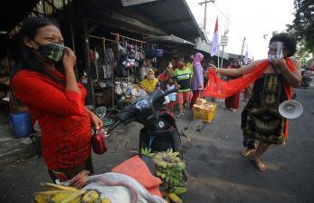 Pemerintah Gaungkan Protokol Kesehatan dengan Kearifan Lokal