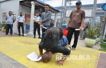 In Picture: Ditjen Pemasyarakatan Bebaskan 18.062 Napi di Indonesia