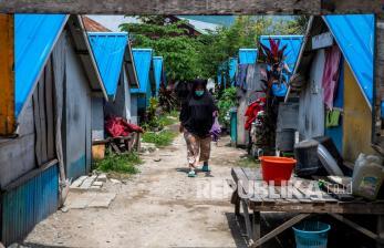 In Picture: Pascagempa, Warga Tiga Tahun Tinggal di Hunian Sementara